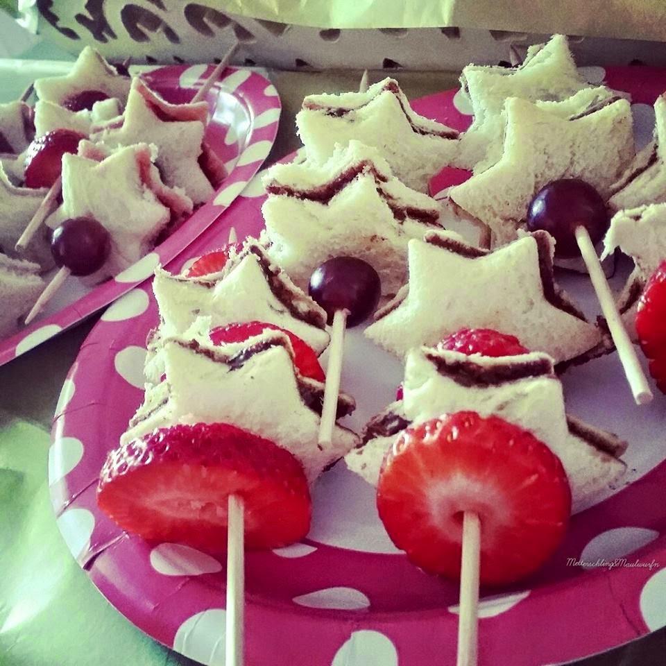 Sternen Food Prinzessinen Geburtstag / Ideen selbermachen & Rezepte