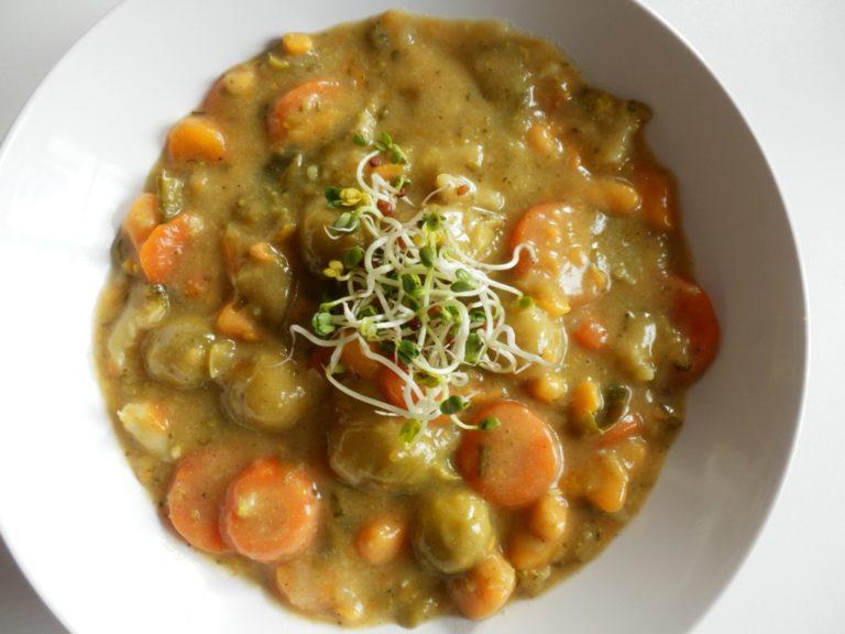 Vegane Einführung plus Rohsenkohl Curry Rezept