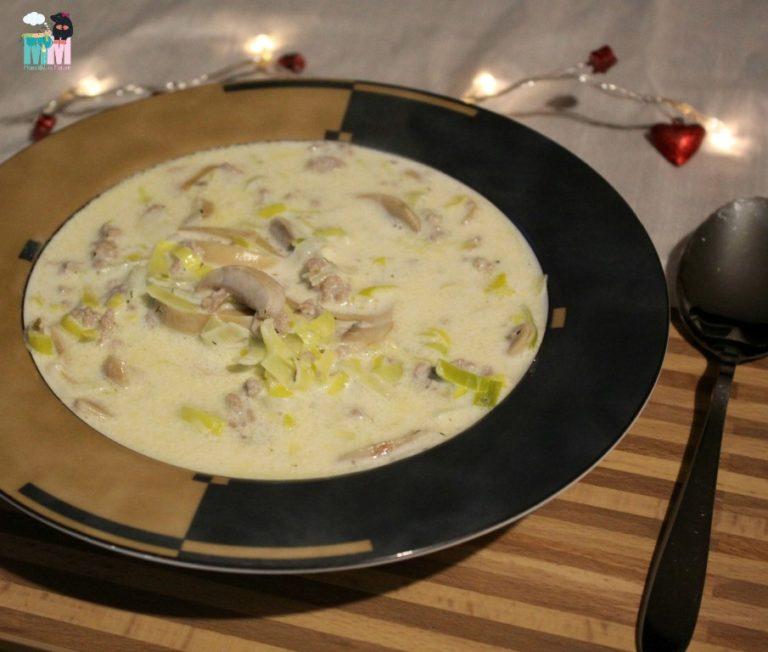 Rezept – Käse Lauch Suppe