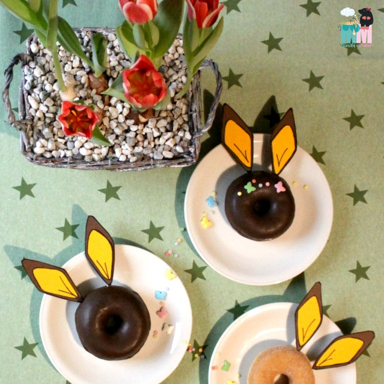 Hasen Donuts – Oster Idee #3