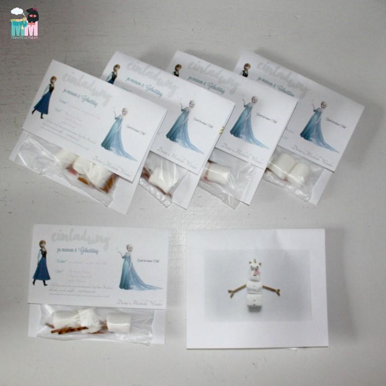 DIY – Olaf-Einladung zum Kindergeburtstag