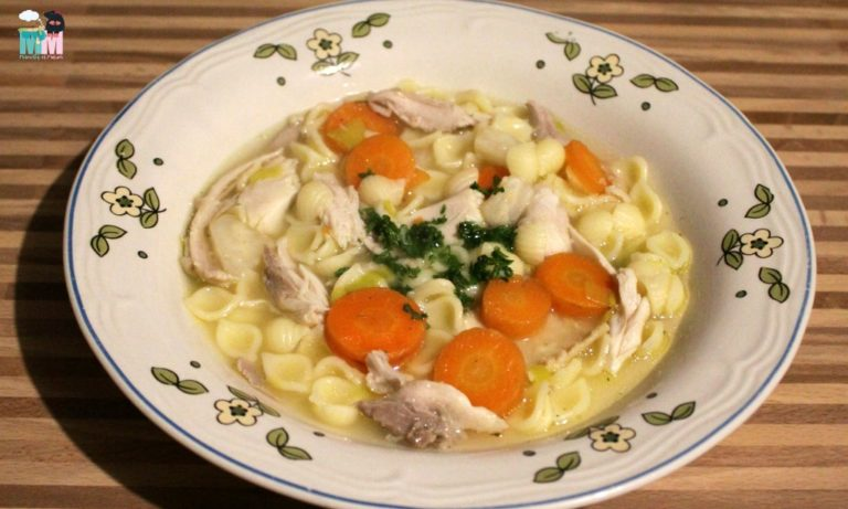 Rezept – Hühnersuppe