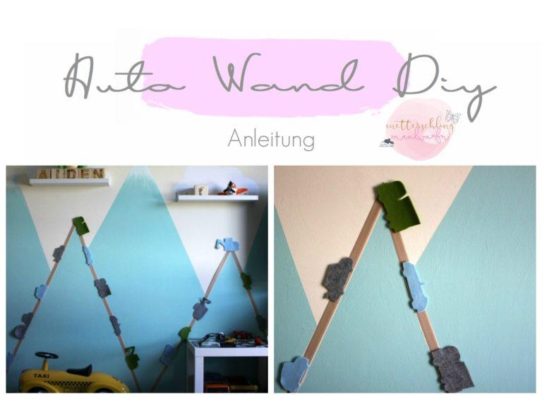 Kinderzimmer DIY – Straßen & Autos an der Wand #aidenskidsroom