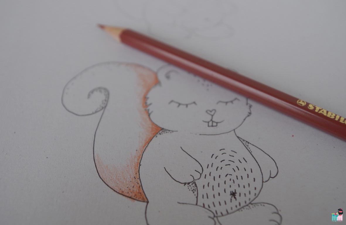 metterschlingundmaulwurfn_familienblog_bystoffregen_malkurs_zeichenkurs_stabilo_hobby_selbstgemacht_kinder_erwachsene_ideen_anleitung_kunst_illustration_scribble_herbst_autumn_squirrel_buntstifte_11
