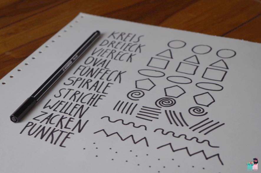 Stabilo-Scribble-Sonntag – die Basis der Kunst / Kinderzeichenkurs