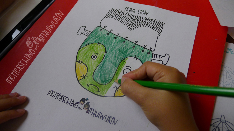 Stabilo-Scribble-Sonntag – der (Kinder) Zeichenkurs: Halloween Spezial