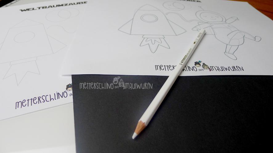 metterschlingundmaulwurfn_familienblog_bystoffregen_malkurs_idee_zeichnen_anleitung_malvorlage_weltall_rakete_mond_astronaut_stabilo_3