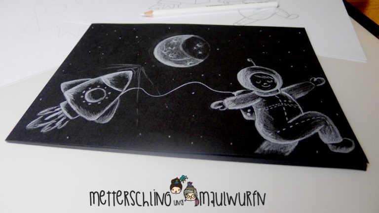 Stabilo-Scribble-Sonntag – der (Kinder) Zeichenkurs: Weltraumzauber