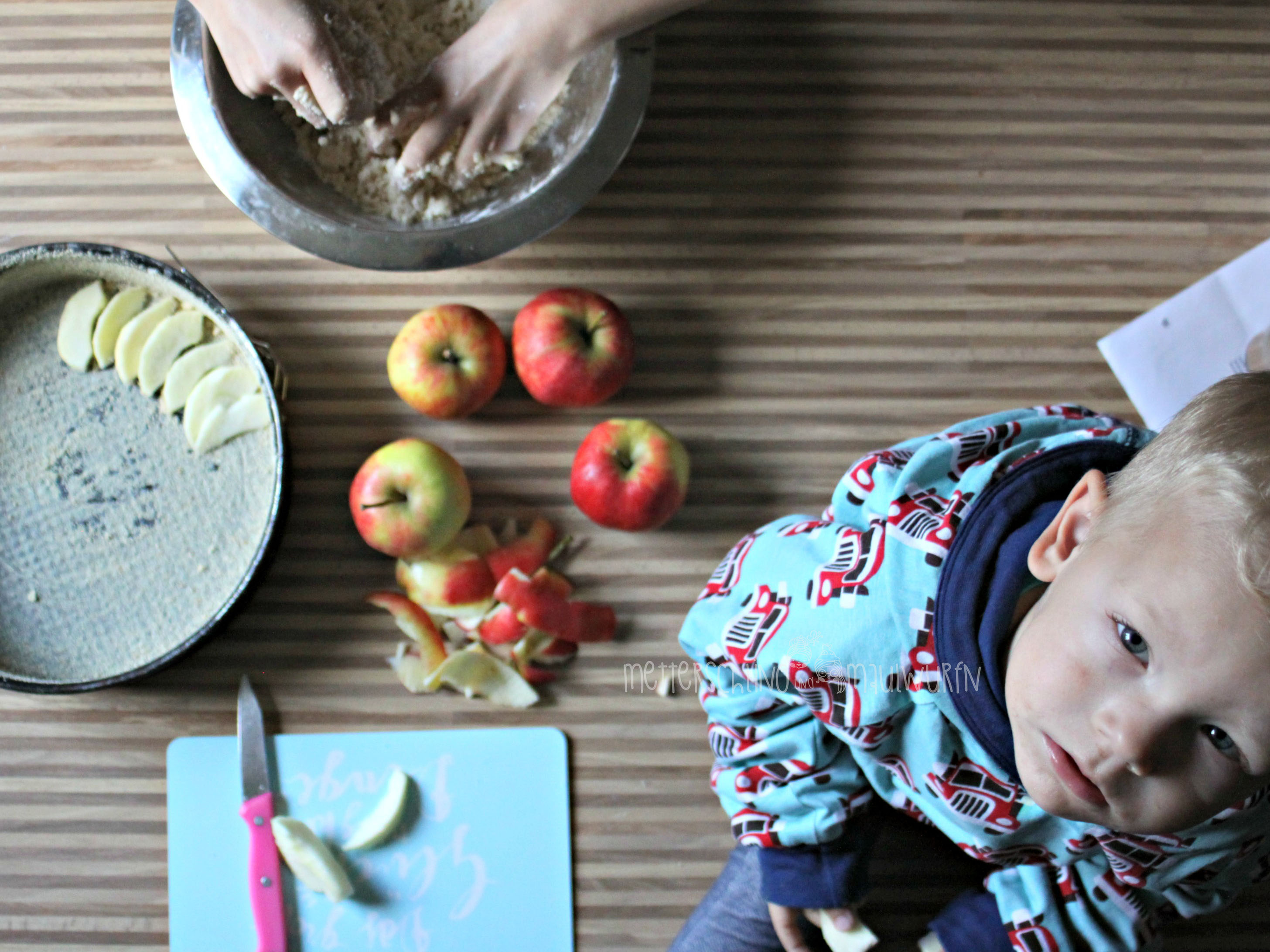 Apple Crumble – Herbst Rezept