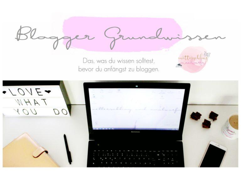 Blog dein Ding – Anfänger Grundwissen