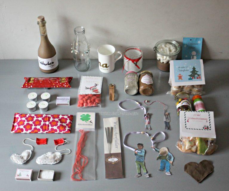 Adventskalender – kleine & schnelle Geschenke zu Weihnachten für Erwachsene