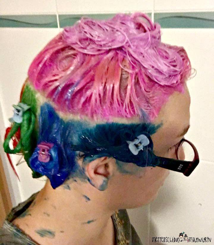 Regenbogen Haare So Funktioniert Das Färben Anfänger Anleitung