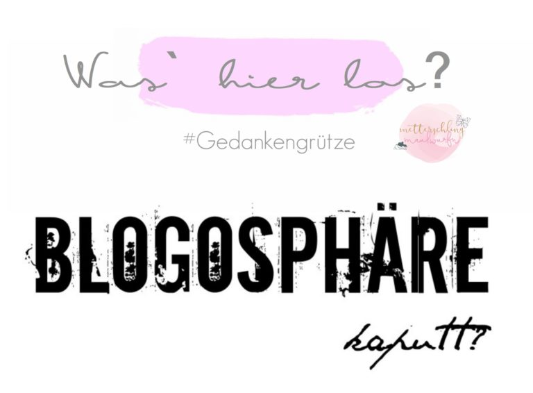 Blogosphäre kaputt?