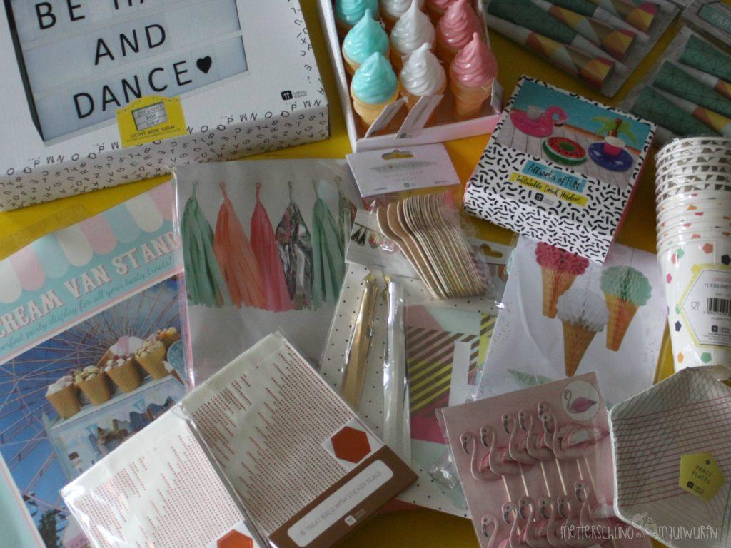 Sommer Party / Kinder Geburtstags Ideen - MuM - dein DIY Blog!