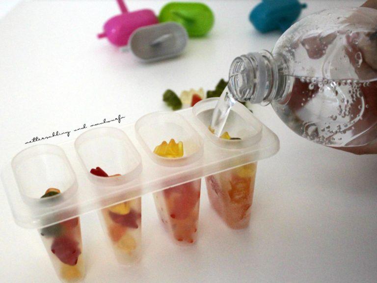Gummiebärchen Eis – Kinder Sommer Rezept Idee