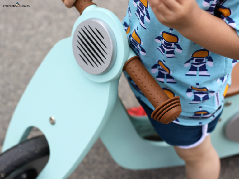 Weltschönstes Laufrad – Pinolino / Holzspielzeug