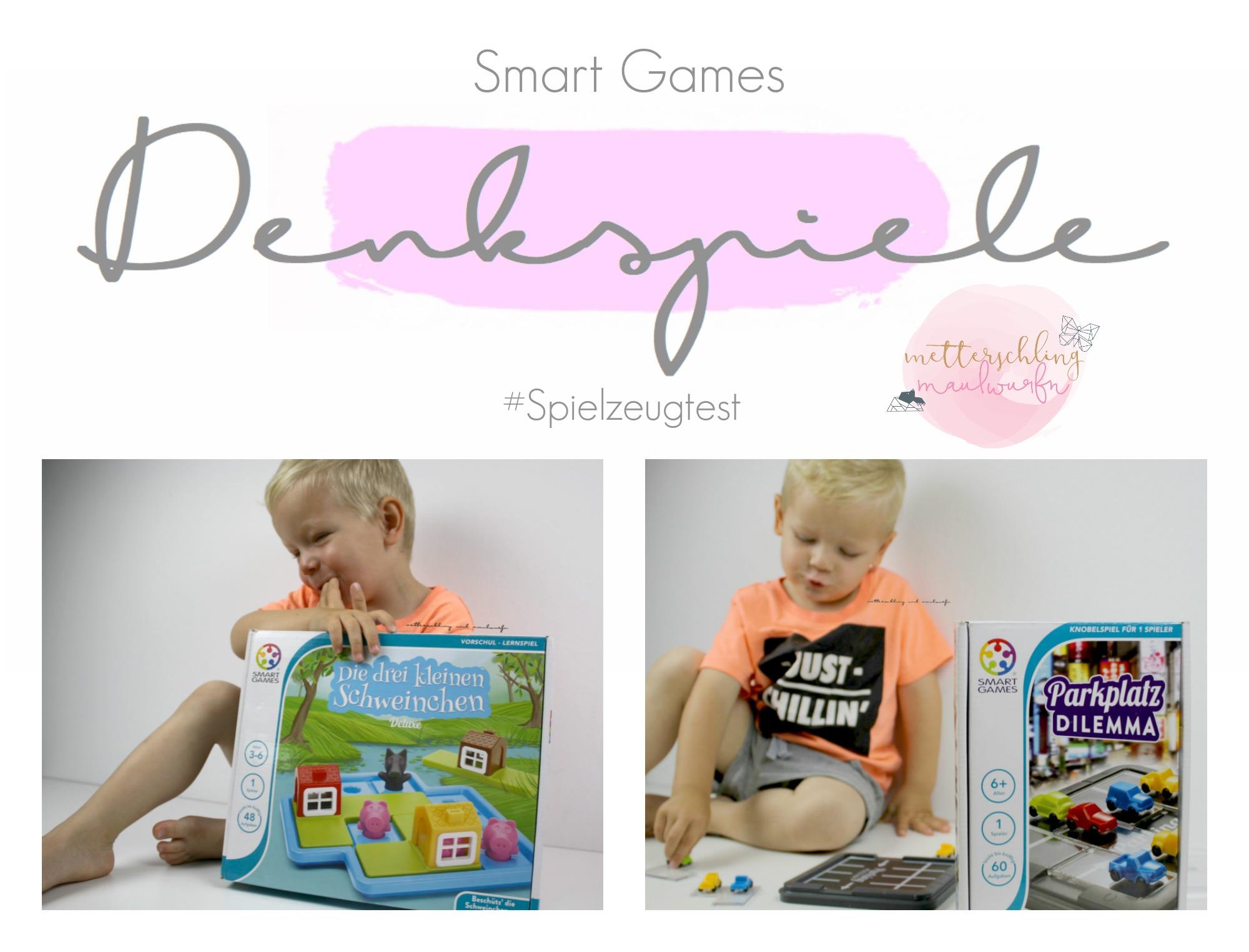 Denkspiele neu verpackt: Smart Games