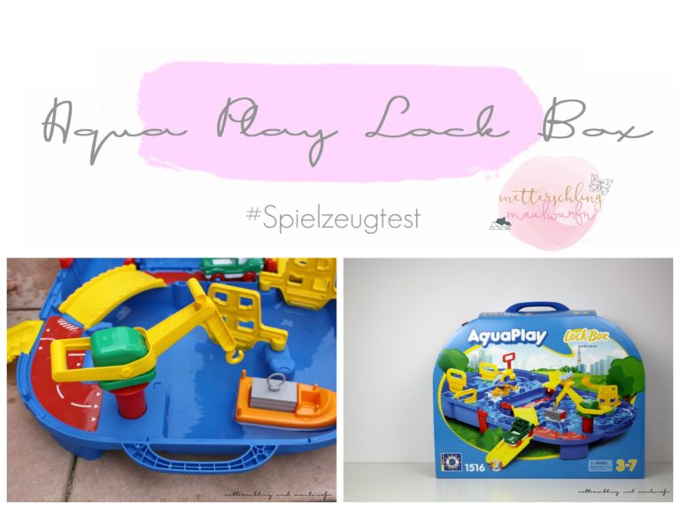 Aqua Play Lock Box – Wasserpielzeug zum mitnehmen
