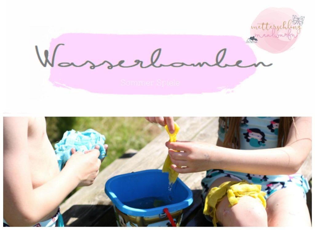 Sommer Spiele Ideen Kinder Ferien Beschäftigung Natur draussen