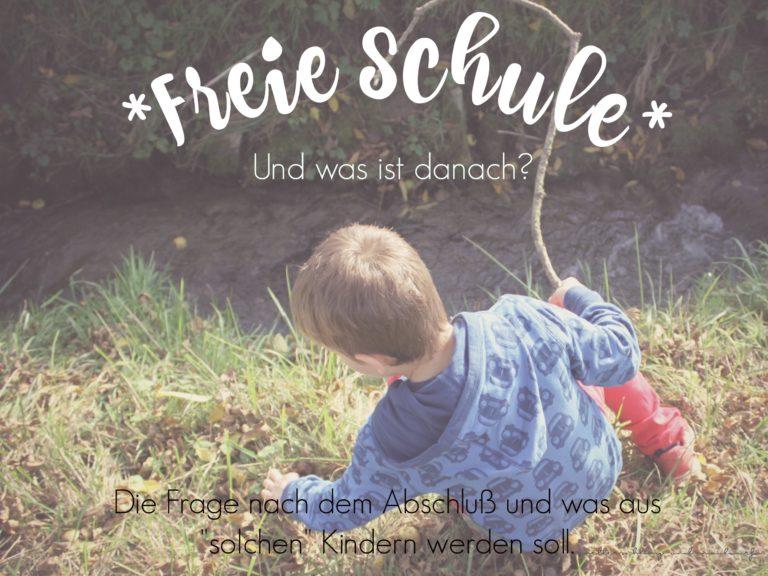 Freie Schule – und dann? / Maxomorra Herbst Kollektion 2017