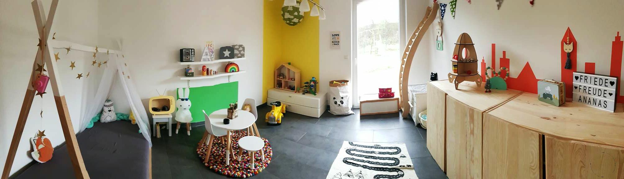 Spiel.- und Kinderzimmer renovieren & einrichten / Tipps gegen das Chaos