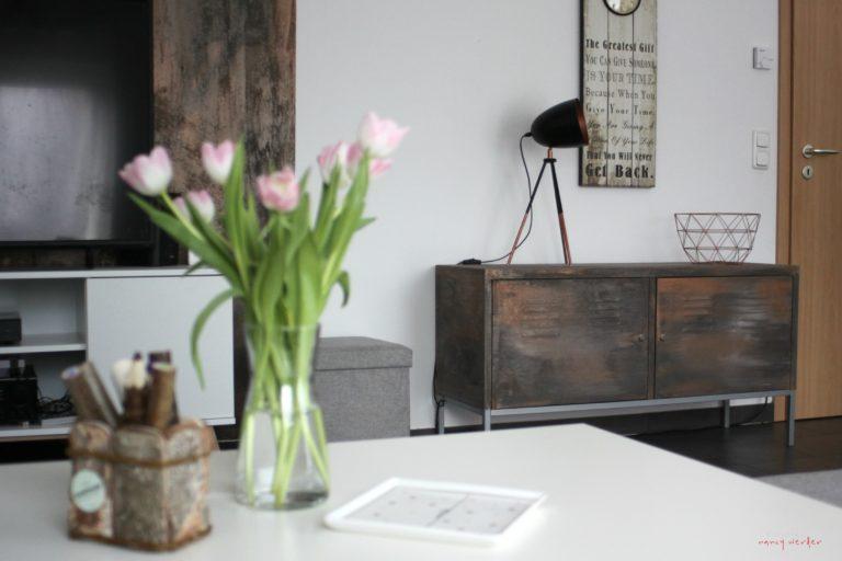 DIY Rost Schrank selber streichen │ Alpina Farben
