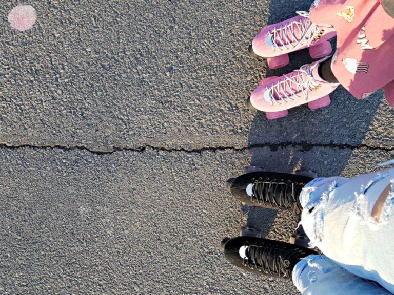 hochwertige Rollschuhe – Luna Skates