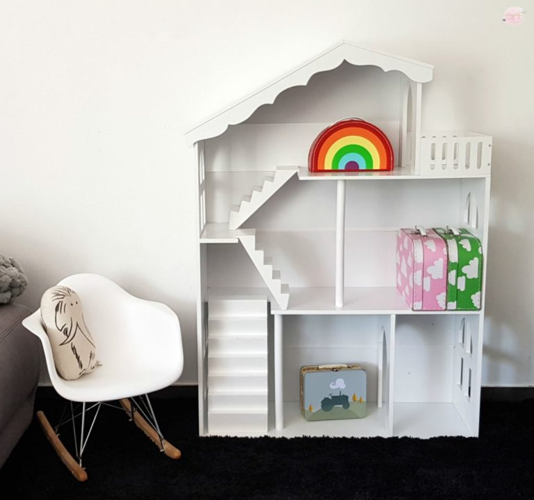 Alice & Fox Puppenhaus in Weiß