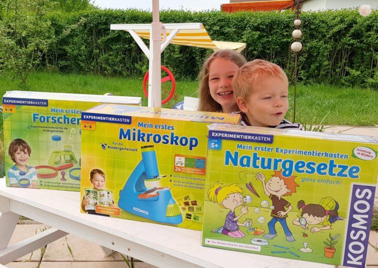 Freilernen & Kindergartenfrei: 3 neue Kosmos Kästen im Test