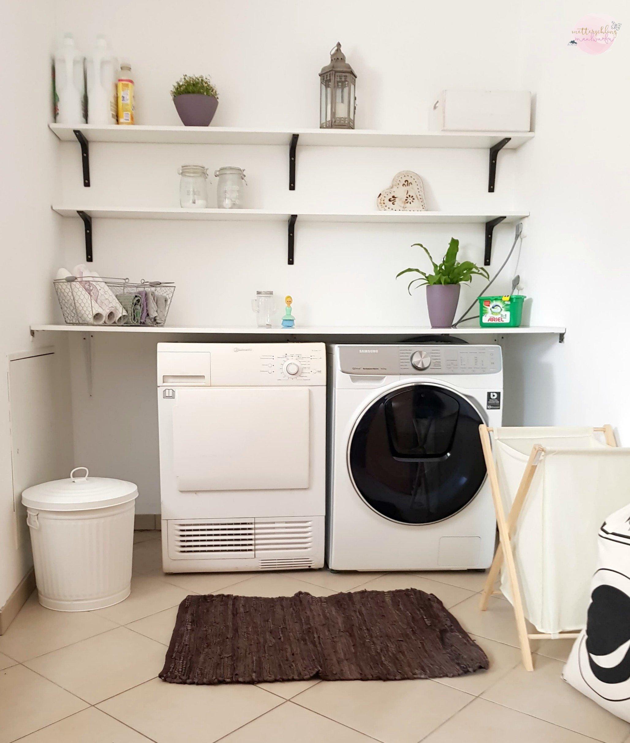 Schritt für Schritt – oder: Wie ich den Wäscheberg besiege