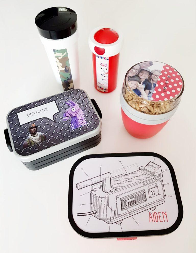Geschenkidee zum Schulstart: MyMepal Brotdosen & Flaschen mit Name